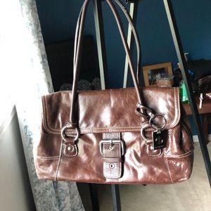 Chocolate Brown shoulder bag